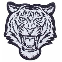 Tiger Large Sequin patch/back patch