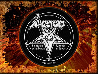 Venom- In League With Satan Woven Patch (ep518)