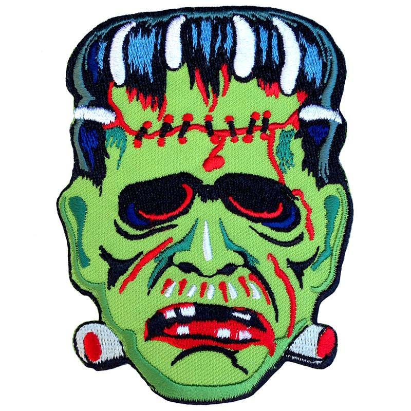 Vintage Franky Frankenstein Mask Embroidered Patch by Scumbags & Superstars (ep270)