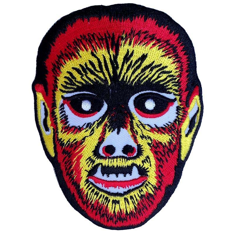 Vintage Wolfman Mask Embroidered Patch by Scumbags & Superstars (ep271)
