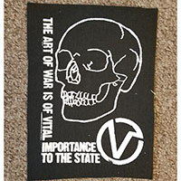 Virus- The Art Of War cloth patch (cp120)