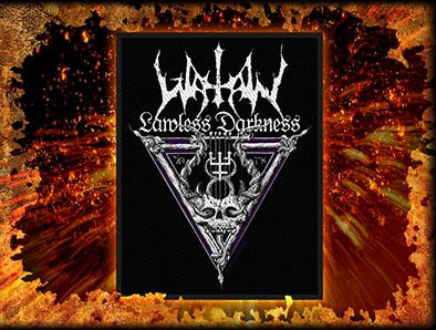 Watain- Lawless Darkness Woven Patch (ep519)