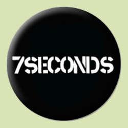 7 Seconds- Logo pin (pinX459)