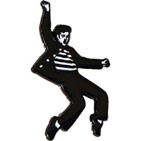 Elvis Presley- Jailhouse Rock Enamel Pin (mp342)