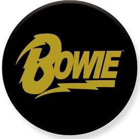 David Bowie- Logo pin (pinX438)