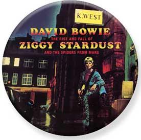 David Bowie- Ziggy Stardust pin (pinX439)