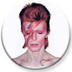 David Bowie- Aladdin Sane pin (pinX441)