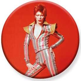 David Bowie- Red Pic pin (pinX448)