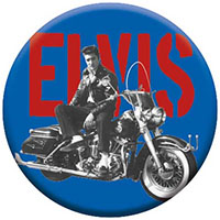 Elvis Presley- Motorcycle Pin (pinX177)