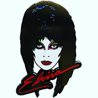 Elvira Mistress Of The Dark 80's Face Enamel Pin by Kreepsville 666 (MP273)