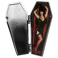 Elvira Open Coffin Pin from Kreepsville - MP422