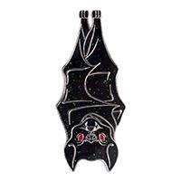 Hannging Glitter Bat Enamel Pin by Kreepsville 666 (mp401)
