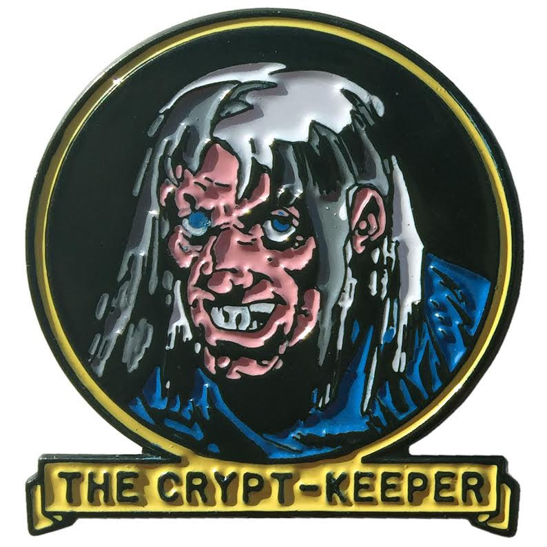 Tales From the Crypt Enamel Pin by Kreepsville 666 - Crypt Keeper (MP110)
