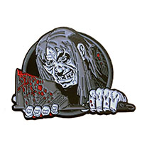 Tales From the Crypt Enamel Pin by Kreepsville 666 - XL Crypt Keeper w Axe (mp256)
