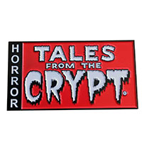 Tales From the Crypt Logo XL Enamel Pin by Kreepsville 666 (mp257)