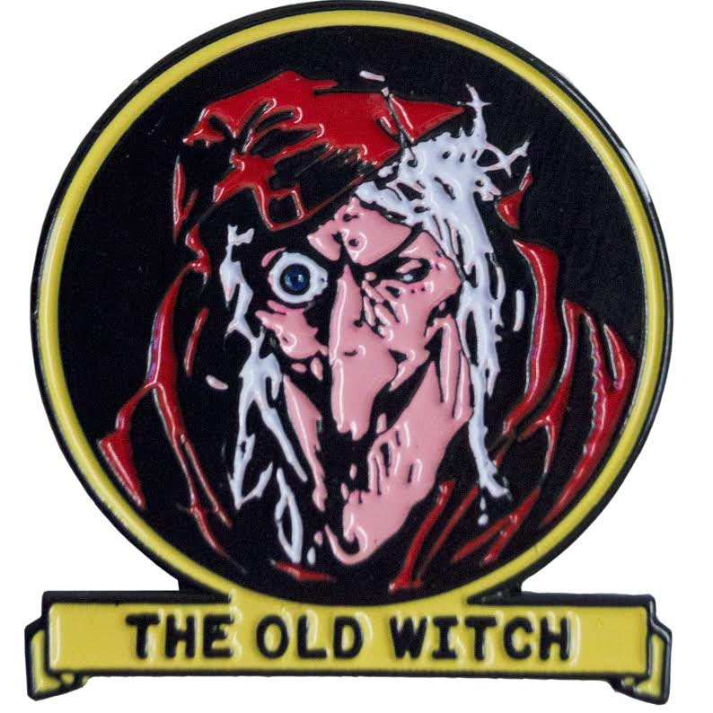Tales From the Crypt Enamel Pin by Kreepsville 666 - The Old Witch (MP112)