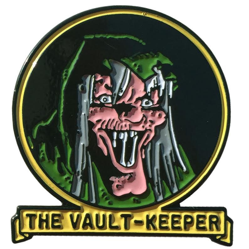 Tales From the Crypt Enamel Pin by Kreepsville 666 - Vault Keeper (MP113)