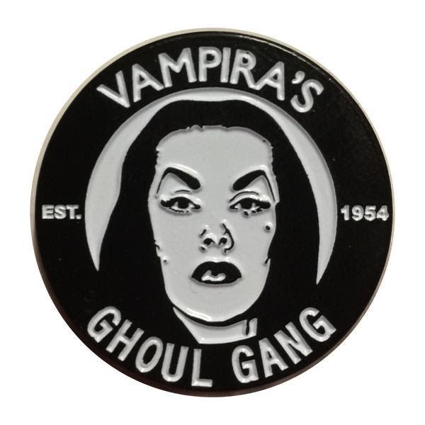 Vampira Ghoul Gang Enamel Pin from Kreepsville (MP71)