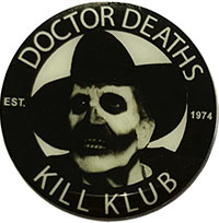 Vincent Price Dr Death Enamel Pin by Kreepsville 666 (MP366)