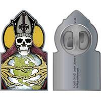 Ghost- Papa Globe enamel Pin (MP17)