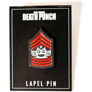 Five Finger Death Punch- Miltary Stick Back Pin (MP234)