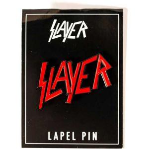Slayer- Red Logo Stick Back Enamel Pin (MP223)