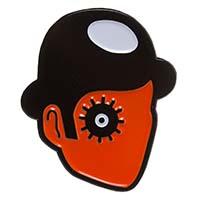 Viddy Well Clockwork Orange Enamel Pin by Sourpuss (mp379)