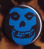 Skull (Blue) pin (pinZ160)
