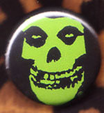 Skull (Green) pin (pinZ161)