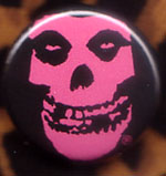 Skull (Pink) pin (pinZ162)