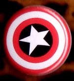 Marvel Comics- Captain America Shield pin (pinZ85)