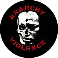 Anarchy Violence (GISM) pin (pinZ10)