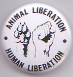 Animal Liberation Human Liberation pin (pinZ18)