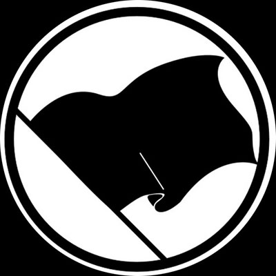 Anarchy Flag pin (pinZ6)