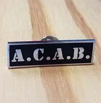 A.C.A.B. Enamel Pin