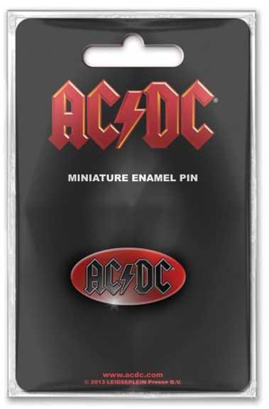 AC/DC- Logo metal stick back pin (MP166)