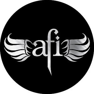 AFI- Chrome Wings pin (pinX107)