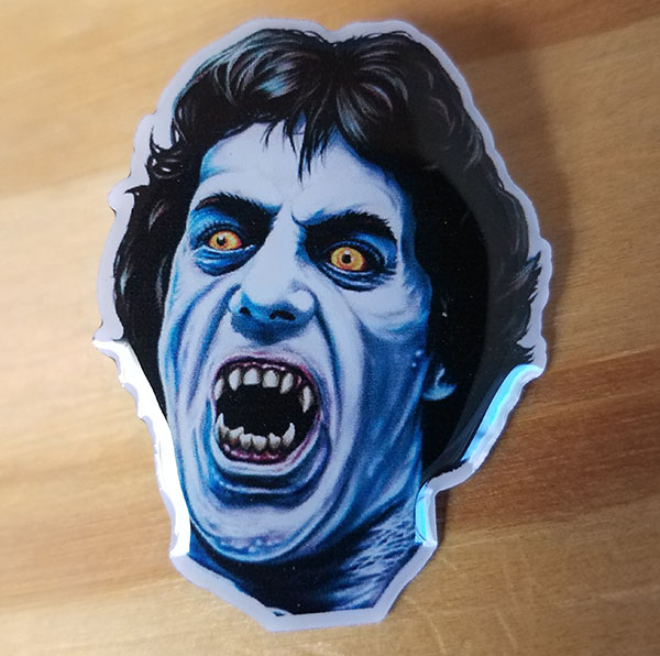 American Werewolf In London- David Enamel Pin