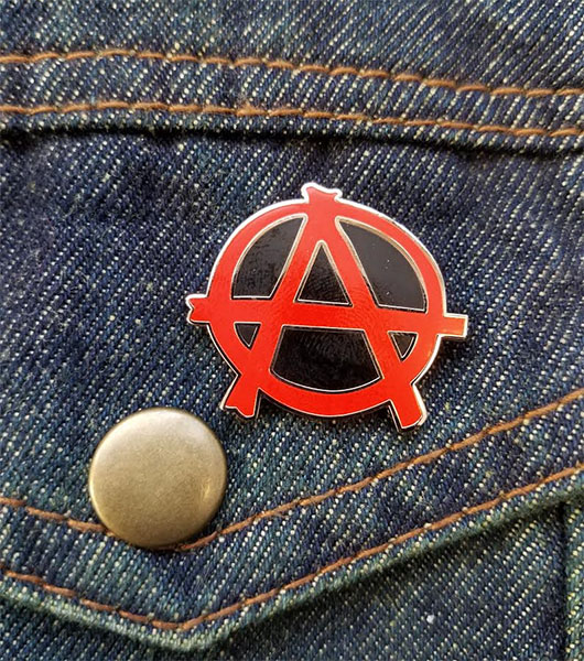 Anarchy Enamel Pin