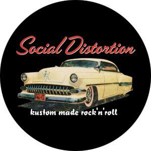 Social Distortion- Kustom Made Rock N Roll pin (pinX320)