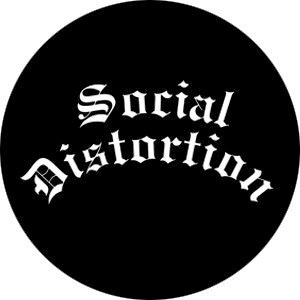 Social Distortion- Logo pin (pinX322)