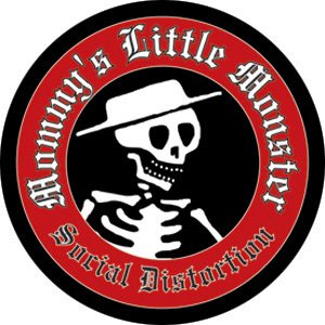 Social Distortion- Mommys Little Monster pin (pinX323)