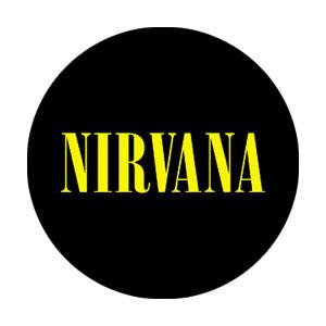 Nirvana- Logo pin (pinX324)