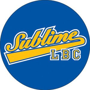 Sublime- LBC (Blue & Yellow) pin (pinX325)