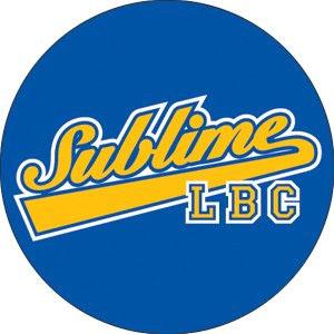 Sublime- LBC (Blue & Yellow) pin (pinX325)