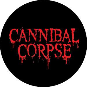 Cannibal Corpse- Logo pin (pinX129)