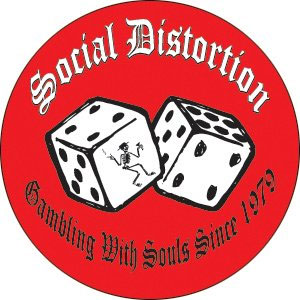 Social Distortion- Gambling With Souls pin (pinX329)
