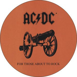 AC/DC- For Those About To Rock pin (pinX316)