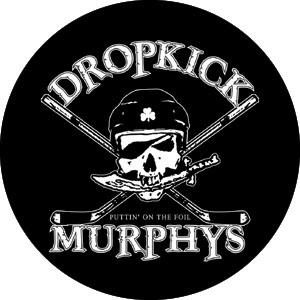 Dropkick Murphys- Hockey Skull pin (pinX331)