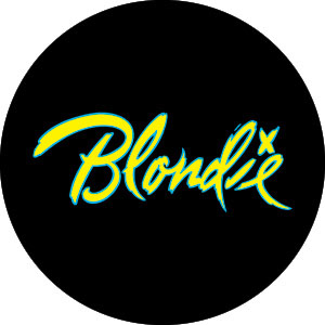 Blondie- Logo pin (pinX332)